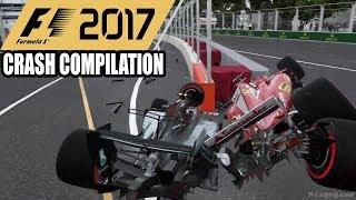 F1 2017 Crash Compilation