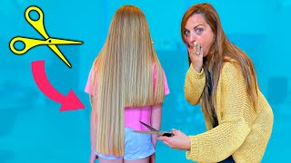 Le corto mucho el pelo a Gisele y Claudia SaneuB