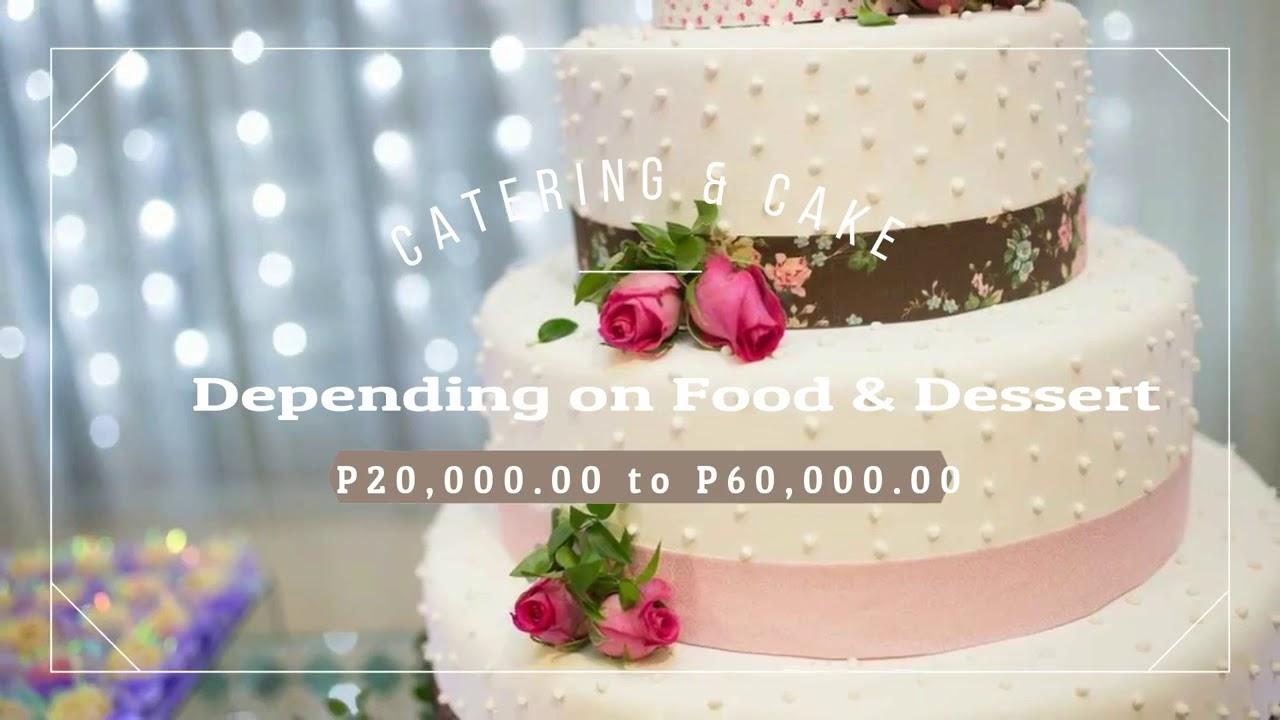 Philippines Wedding Budget Breakdown Youtube