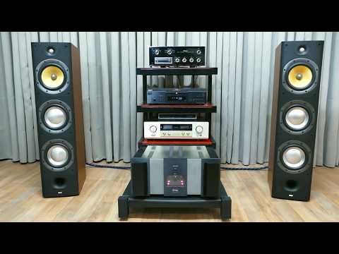 Krell Ksa 100 High End Audiophile Amplifier and  Bowers & Wilkins 604 S3 ,Test Audio Jazz Trio
