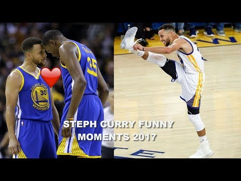 Thumbnail: NEW Stephen Curry FUNNY MOMENTS 2017 PART 5