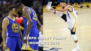 NEW Stephen Curry FUNNY MOMENTS 2017 PART 5