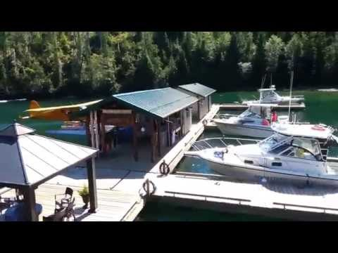 Newton Cove Fishing Lodge - Get there in a DeHavilland Beaver Seaplane