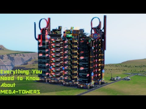 SimCity: Everything you need to know about Mega Towers