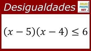 DESIGUALDADES CUADRÁTICAS - Ejercicio 3