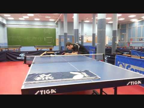 Exercice service tennis de table youtube - Tennis de table poitou charente ...