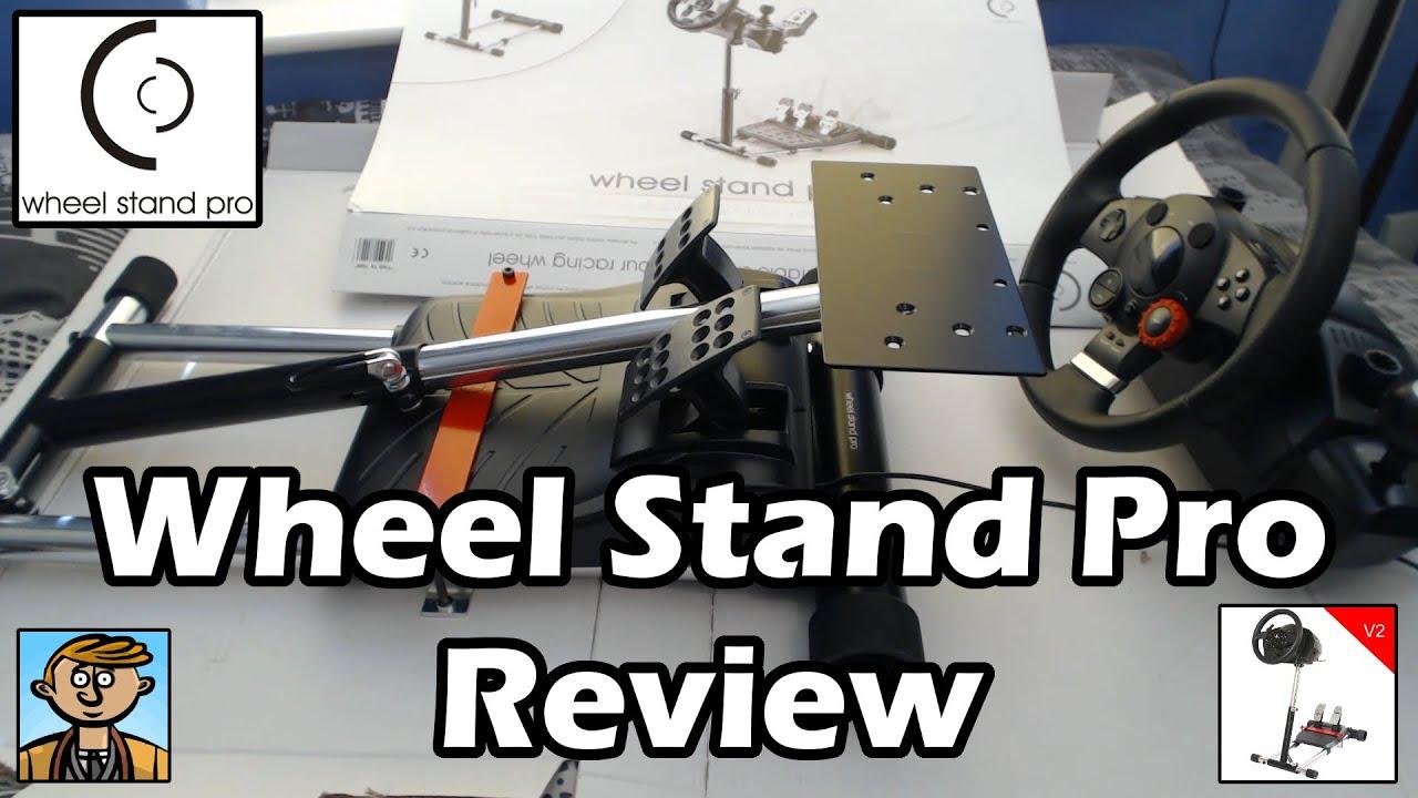 wheel stand pro review unboxing v2 deluxe logitech. Black Bedroom Furniture Sets. Home Design Ideas