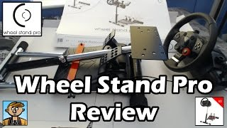 Wheel Stand Pro Review & Unboxing (V2 Deluxe - Logitech, Thrustmaster & Porsche Steering Wheels)