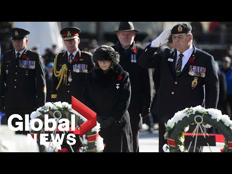 Canada Remembers: national Remembrance Day ceremony from Ottawa