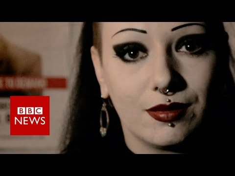 Toxic Tears on what it's like for her being a goth- BBC News