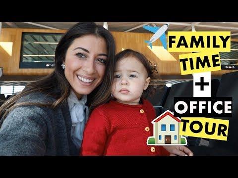 Family Time + New Luxy Hair Office Tour | Mimi Ikonn Vlog