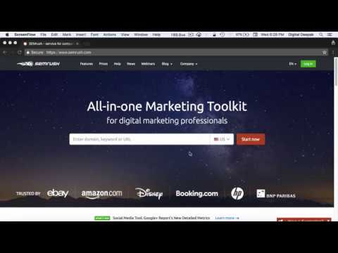 How to use SEMRush for Digital Marketing? A Complete Guide thumbnail