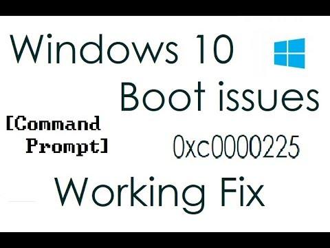 Fix Error Code 0xc0000225 (Windows 10)