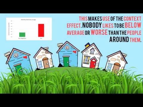 Nudge #1 - Reducing Electricity Usage