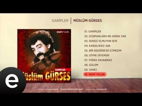 Mavi Yelek (Müslüm Gürses) Official Audio #maviyelek #müslümgürses