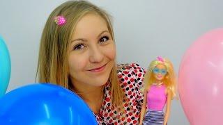 Видео для девочек.  Барби собирается в гости к Дракулауре