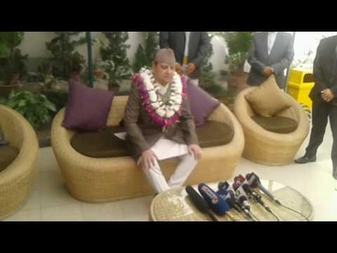 पूर्वराजा ज्ञानेन्द्रको खुलासा / Former king  Gyanendra receiving Bhaitika