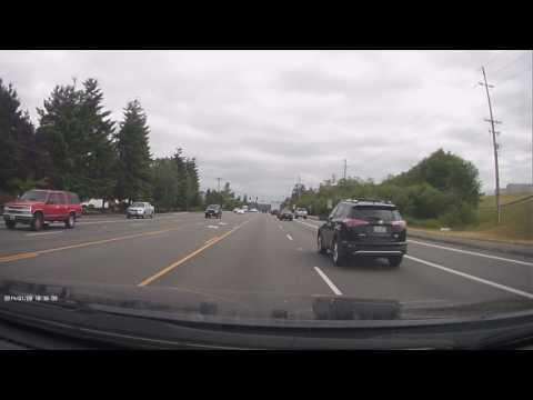Dash cam Crash in everett washington
