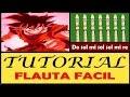 Dragon Ball Z Canción Dramatica en Flauta Dulce Con Notas Explicadas
