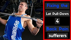 hqdefault - Lat Pull Down Lower Back Pain