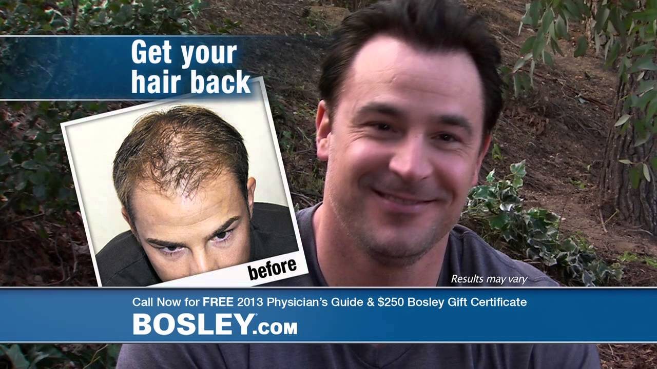 Bosley 60 Sec Commercial Used To Be Me Refresh 2013 Youtube