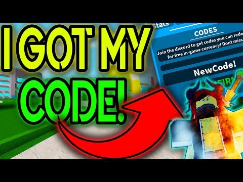 NEW CODE RELEASE! I GOT MY OWN CODE IN BOKU NO ROBLOX REMASTERED