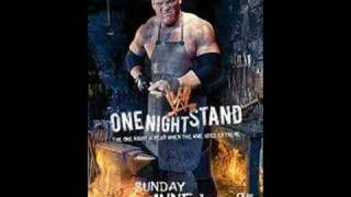 wwe one night stand 2008 theme song