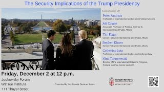 The Security Implications of the Trump Presidency