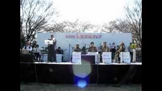 2012年4月8日 所沢文化フエアー 所沢ビッグ・フェロー・ジャズオーケス...