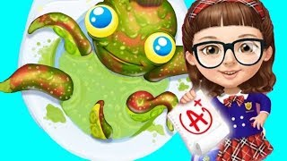 Sweet Baby Girl Fun Cleanup - Kids Learn How To Do Daily Chores And Care Of Cute Pets Game