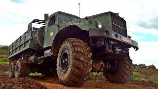 Kraz 255b 6x6 Offroad Truck Action