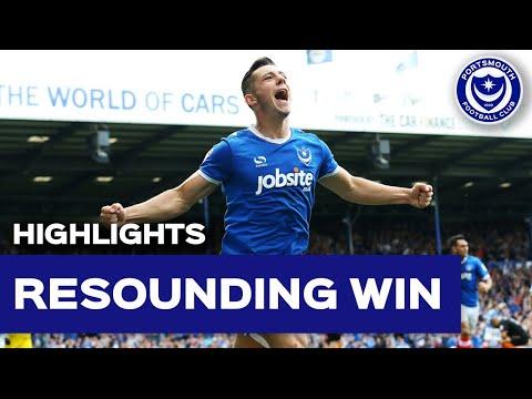 Highlights: Portsmouth 5-1 Barnet