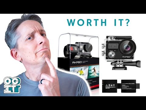 AKASO Brave 4 4K Camera Unboxing & Review - As Good As GoPro? (*Not Sponsored*)