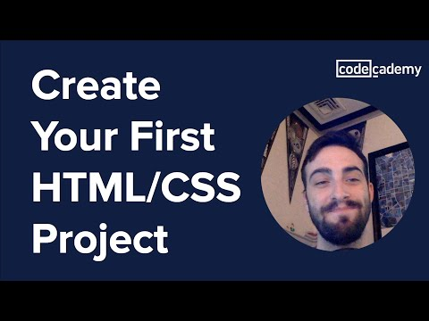 Create Your First HTML / CSS Project