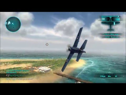 Air Conflicts: Pacific Carriers Gameplay