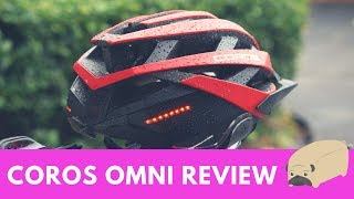 Coros OMNI Smart Cycling Helmet First Look and Review