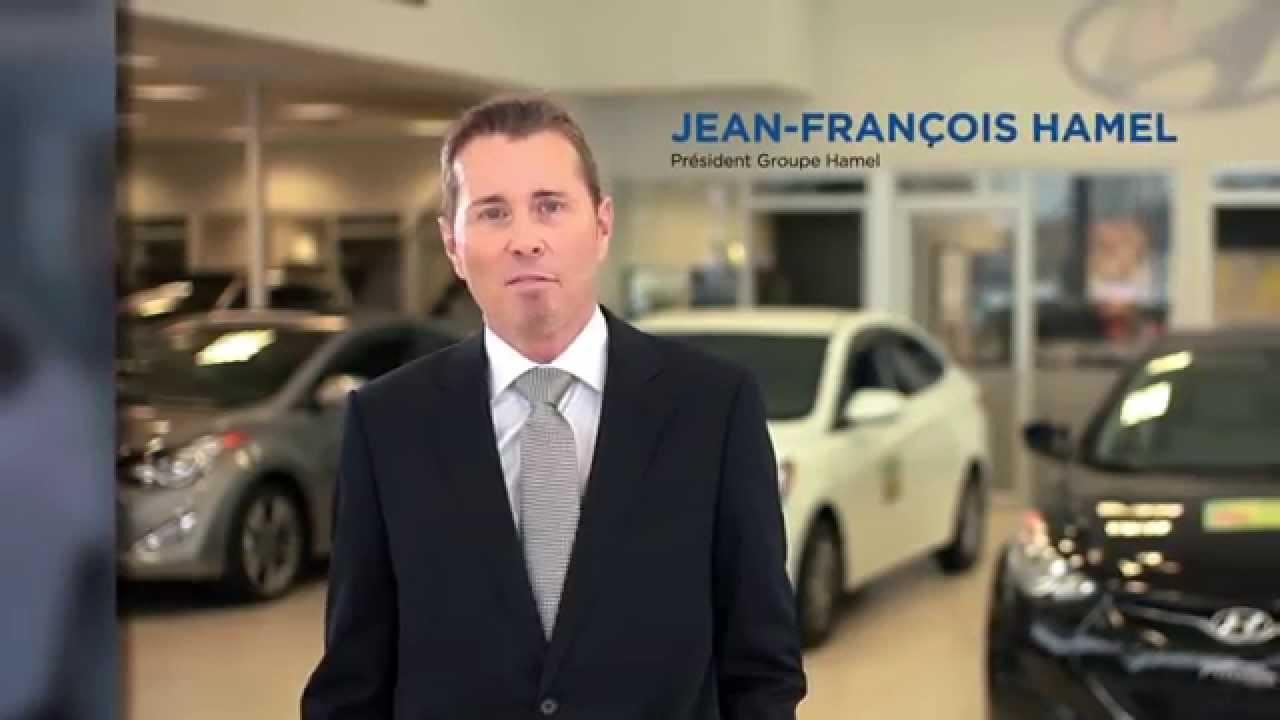 Message télé Hamel Hyundai de St-Eustache - YouTube