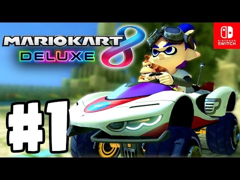 Save NEW KARTS, CHARACTERS & ITEMS...!!! | Mario Kart 8 Deluxe Part 1 | Switch Gameplay Walkthrough Pics