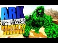 ARK Scorched Earth - HUNTED BY HARAMBE, POWER MORELLATOPS TAME Modded #1 - ARK Comes Alive Mod