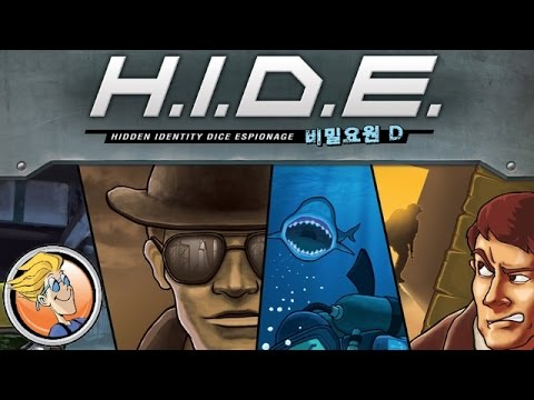 H.I.D.E.: Hidden Identity Dice Espionage — Spiel 2015