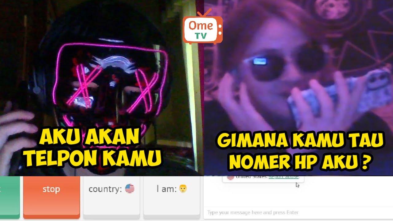 H4CKER INDONESIA LACAK NOMER HP ORANG DI OME.TV || PRANK OME.TV INTERNASIONAL PART #29