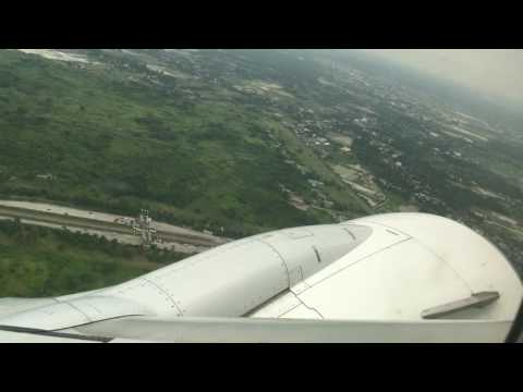 Garuda Indonesia GA185 Take Off from Medan (KNO) to Jakarta (CGK) Boeing 738