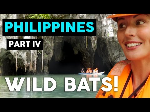 THE UNDERGROUND RIVER OF PUERTO PRINCESA // PALAWAN PHILIPPINES VLOG