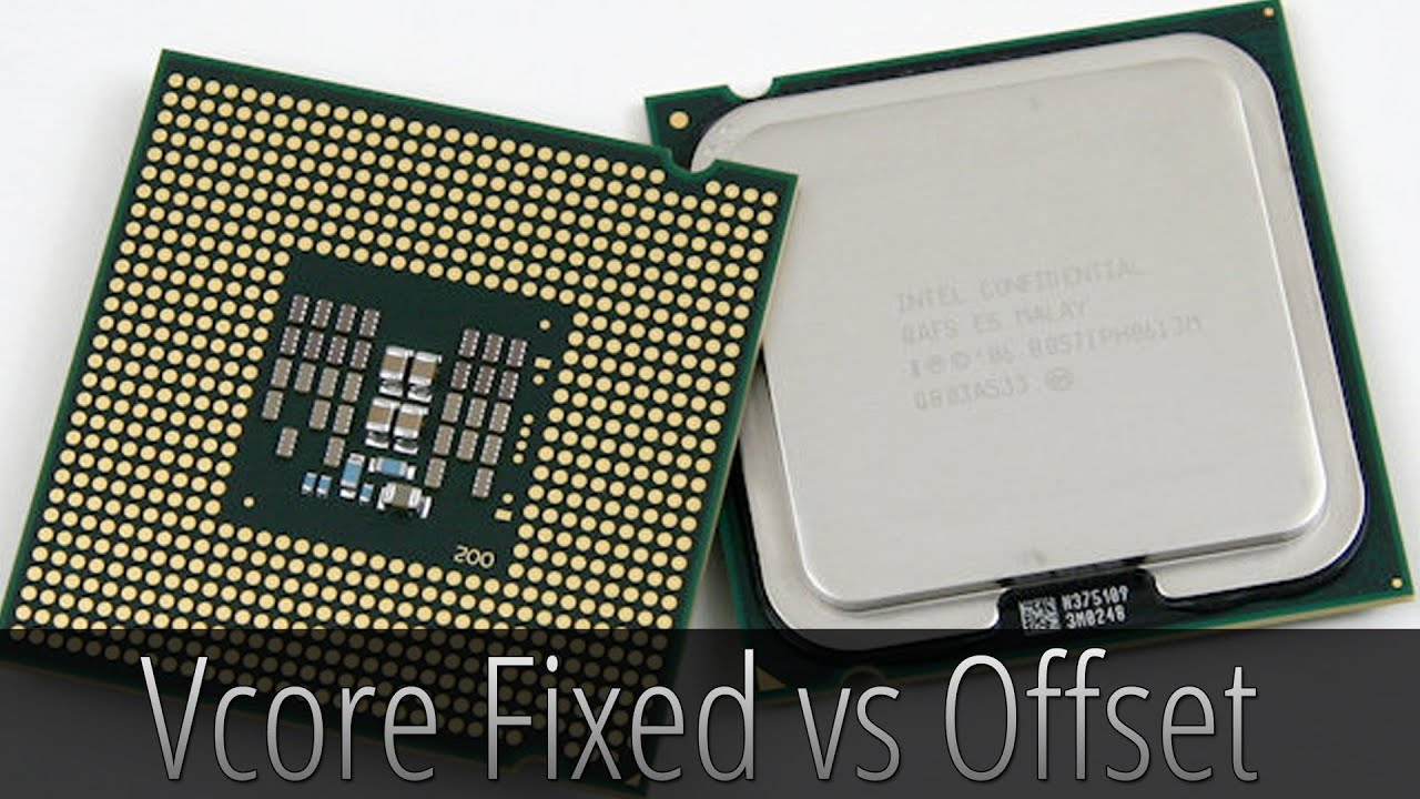 Overclock: Vcore Fixed vs Offset (PT-BR)