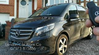 Mercedes Vito Starline | Starline Security System | London Car Alarm Co