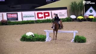 Tori Colvin Wins the 2014 Maclay Finals  - Rd  1