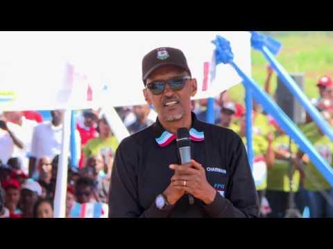 RPF Chairman Paul Kagame campaigns in Nemba   Gakenke , 31 July 2017