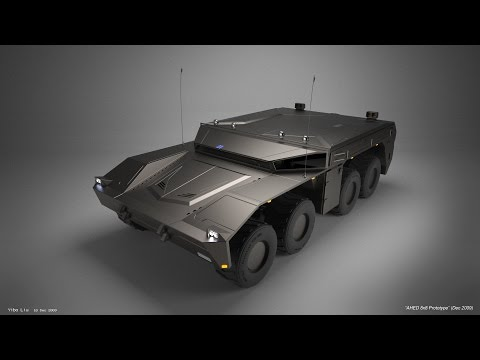 AHED 8x8 Hybrid Infantry Vehicle - US Army