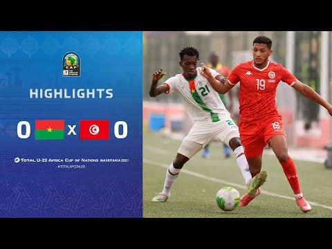 HIGHLIGHTS   Total AFCONU20 2021   Round 1 - Group B : Burkina Faso 0-0 Tunisia