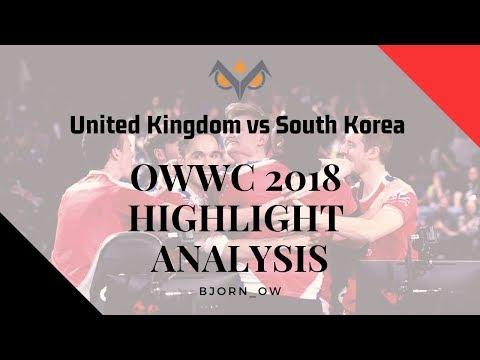 United Kingdom Vs South Korea | OWWC 2018 | Replay Analysis